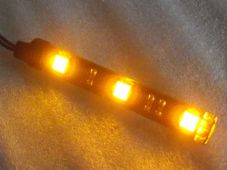 LED Strips indicators amber marker lights leds 3 SMD x2